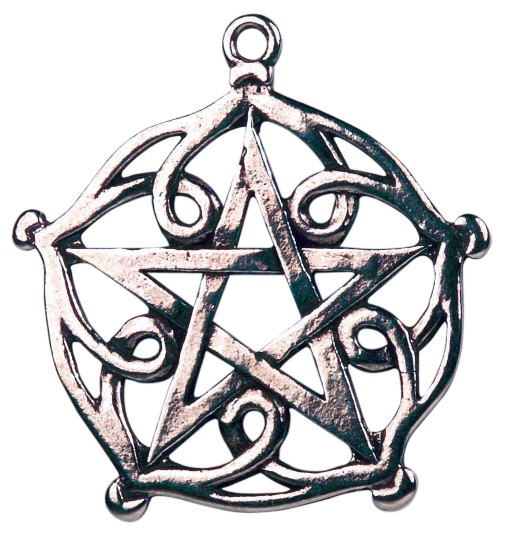 Pentagram for Charm and Beauty Amulet Pendant