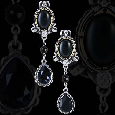 Alchemy Gothic Lord Byron She Walks Earring
