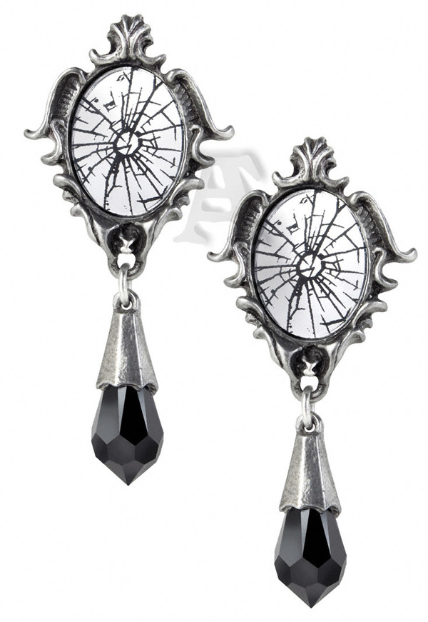 Alchemy Gothic Catoptrauma Divination Earrings