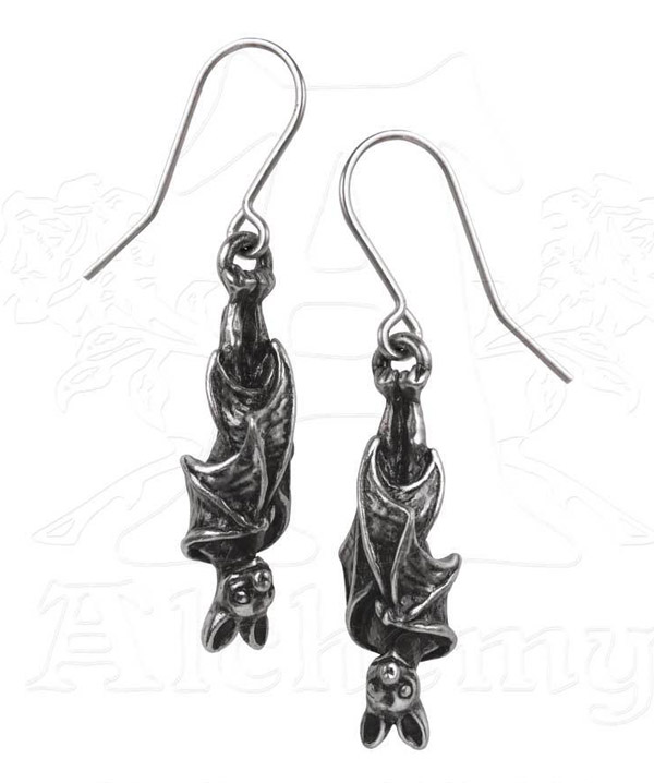 Alchemy Gothic Awaiting The Eventide Earrings