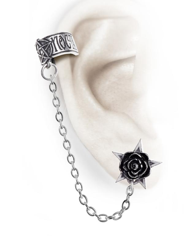 Alchemy Gothic Rosa Nocta Earcuff