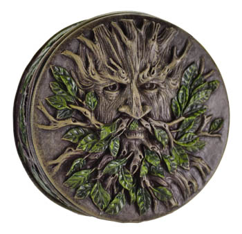 Round Greenman Northwind Spell Box