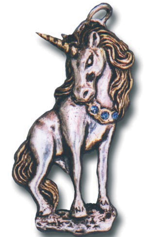 Fantasy Jewelry Unicorn Astral Travel  Pendant