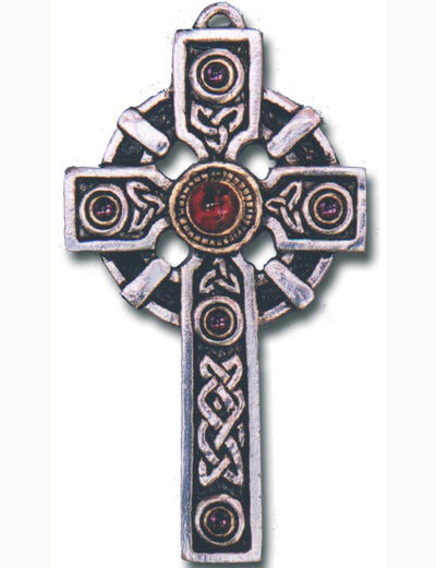Large Celtic Cross Pendant for Protection