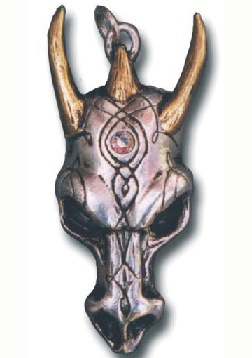 Dragon Skull Wealth Pendant