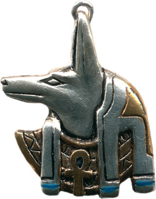 Egyptian Anubis Amulet For Guidance Pendant
