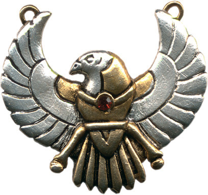 Horus Amulet for Safety on Journeys Pendant