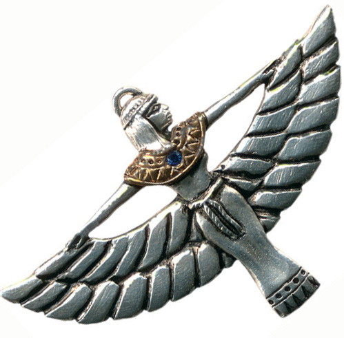 Goddess Isis Amulet Magical Inspiration Pendant