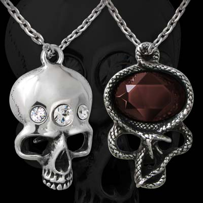 Alchemy Gothic The Demon in My Head Pendant