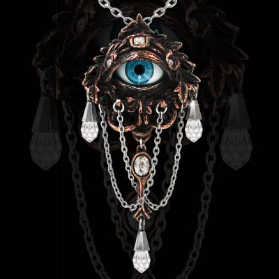 Alchemy Gothic Natural Magic The Lore of The Forest Necklace