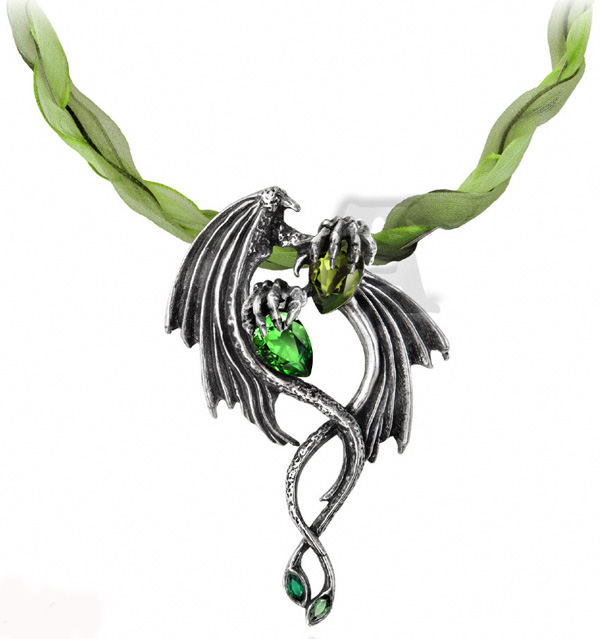Alchemy Gothic The Emerald Dragon Choker
