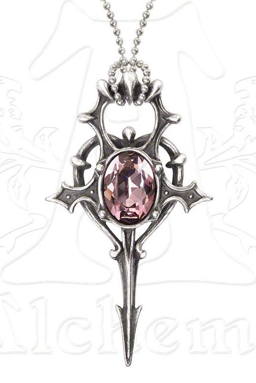 Alchemy Gothic Eternal Life Ankh Herz Leben Pendant