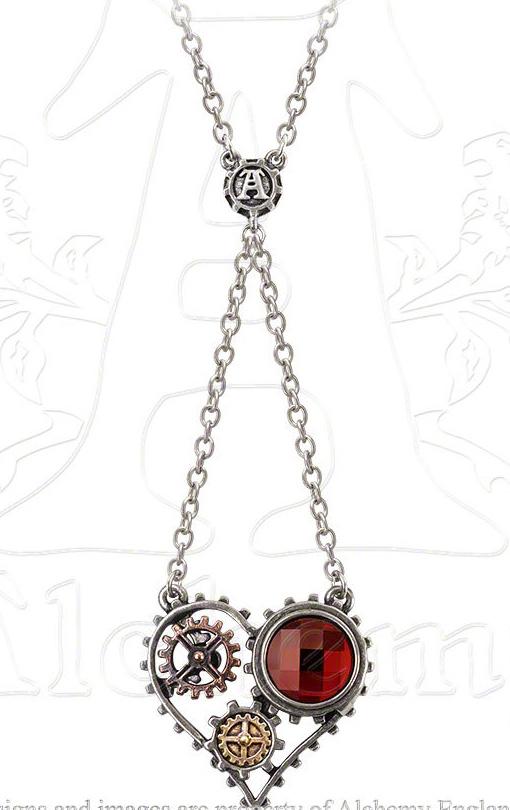 Alchemy Gothic Coeur Du Moteur Necklace
