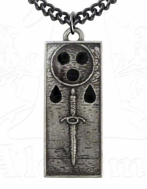 Alchemy Gothic Death Ingot Necklace
