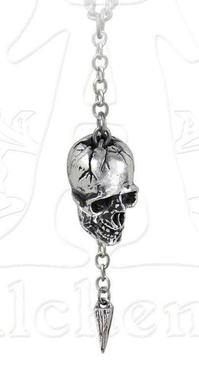 Alchemy Gothic Skull Schadel Des Jarl Necklace