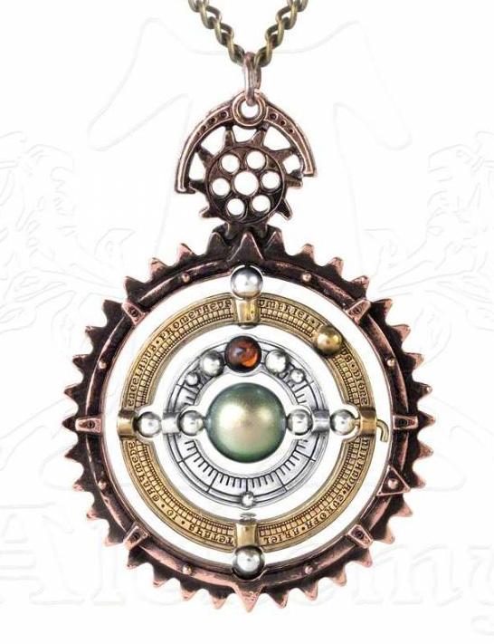 Alchemy Gothic Ordium Coelestium Mechanicum Necklace
