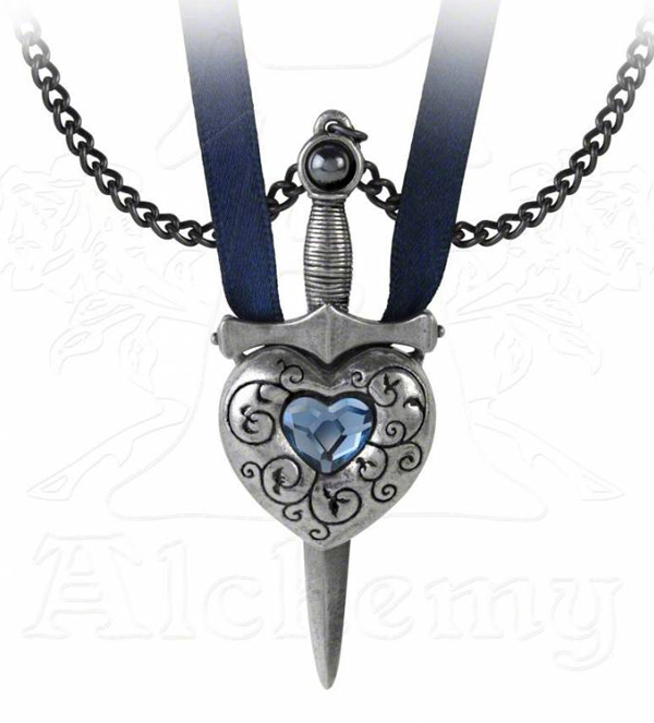 Alchemy Gothic Love is King Necklace