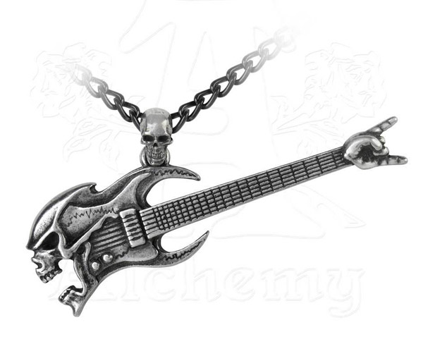 Alchemy Gothic Shred Attack Pendant Necklace