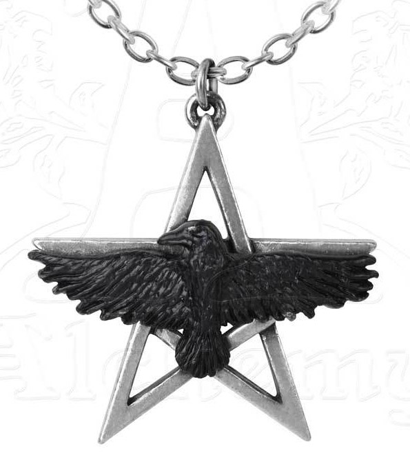 Alchemy Gothic Ghost-seer Pendant Necklace