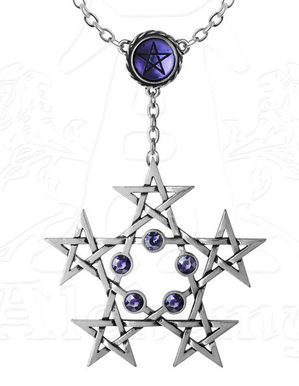 Alchemy Gothic Unicorn Geistalon Pendant Necklace