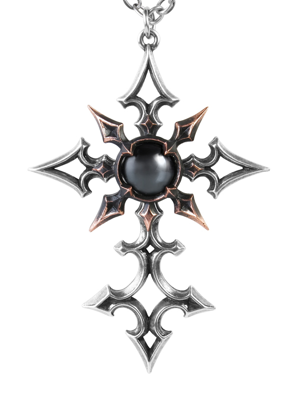 Alchemy Gothic Cross ChaoCrucis Pendant