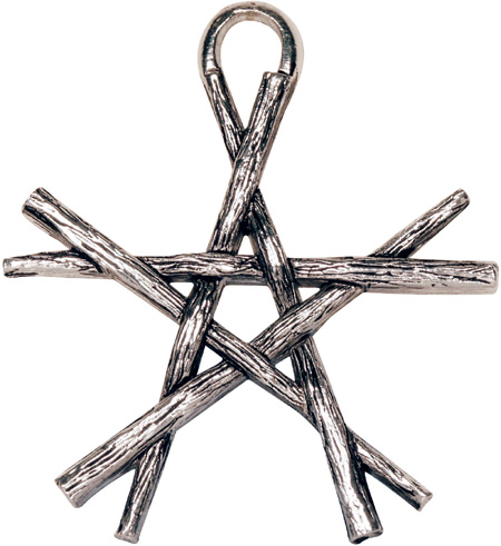 Pentagram of Wands Pendant