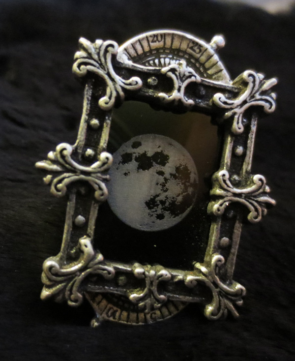 Alchemy Gothic Moon Phase Optimiser Ring