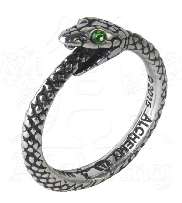 Alchemy Gothic The Sophia Serpent Ring