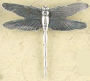 Sterling Silver Fantasy Dragonfly Pendant