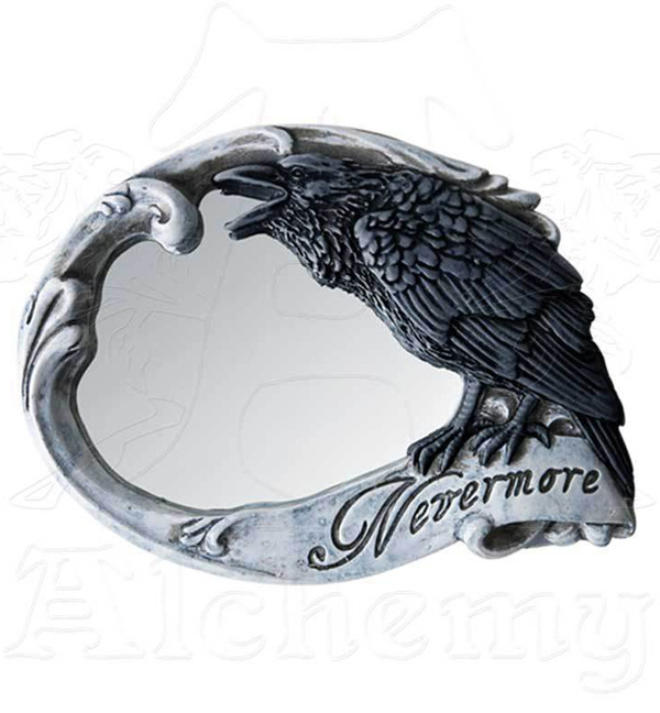 Alchemy Gothic Nevermore Compact Mirror