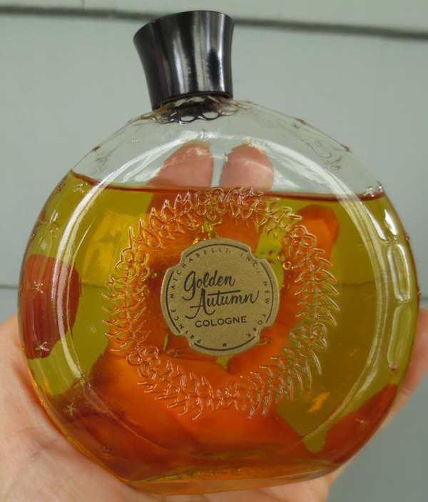 Vintage Golden Autumn Prince Matchabelli Perfume Large Bottle