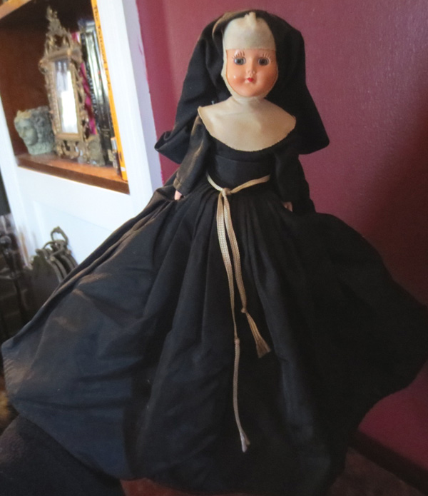 Vintage 1950s Marcie Doll Catholic Nun