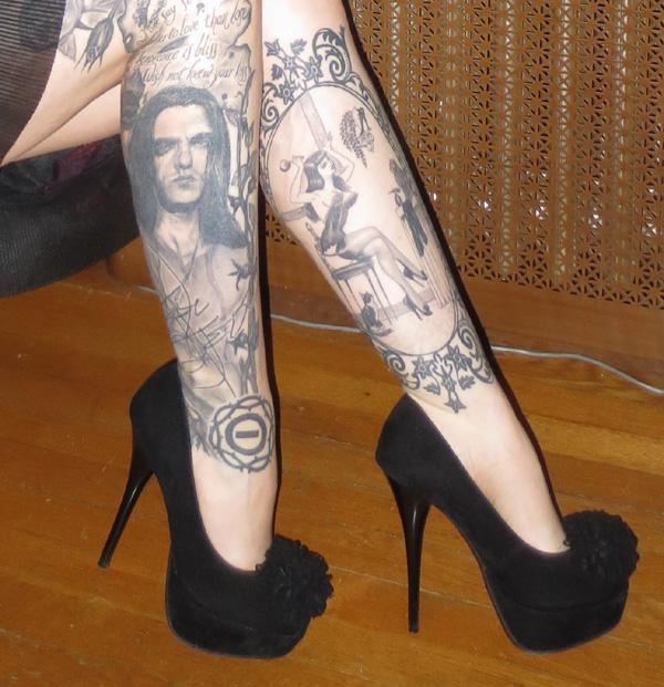 Sexy 5 inch heels