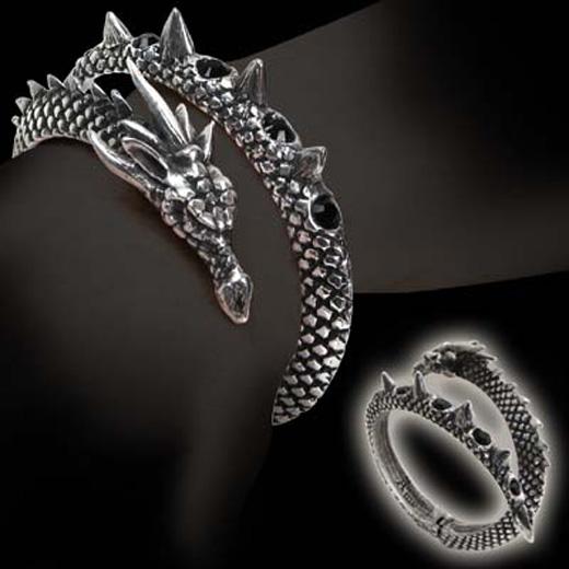 New Alchemy Gothic Vis Viva Dragon Bracelet XT94