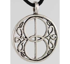 Chalice Well Celtic Knot Well Cover Amulet Pendant