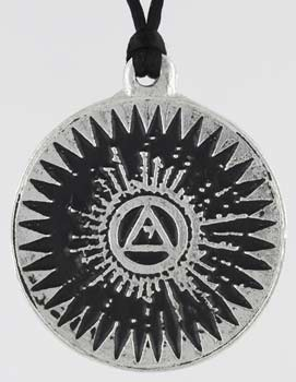 Seal of Schemhamphoras Attract Money Amulet Pendant