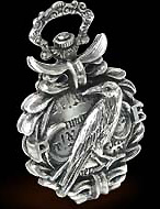 Alchemy Gothic The Nevermore Raven Fob Watch