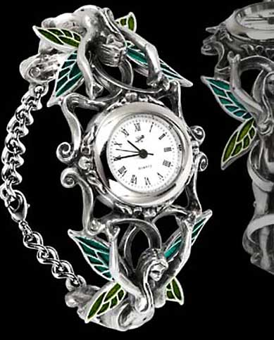 Alchemy Gothic Artemisia Fairy Bracelet Watch