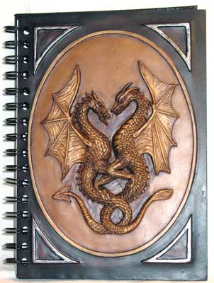 Double Dragon Book of Shadows Spell Journal