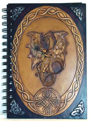 Dragon Book of Shadows Spell Journal