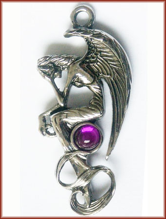 Angel's Lament for Immortality Pendant