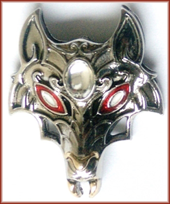 Masque of the Wolf for Supernatural Powers Pendant