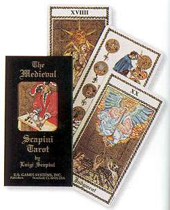Renaissance Age The Medieval Scapini Tarot