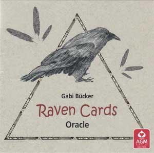 Raven Oracle Cards by Gabi Bucker