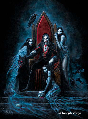 Monolith Graphics Gothic Postcard Dracula