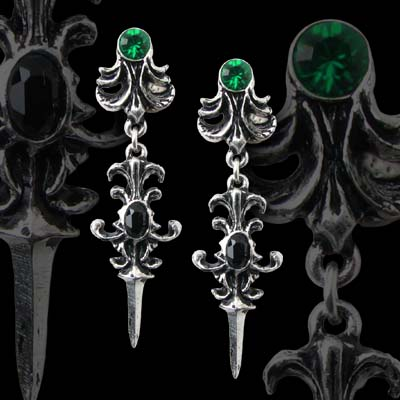 Alchemy Gothic Westenra Spica Earrings