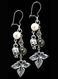 Alchemy Gothic Poison Ivy Earrings