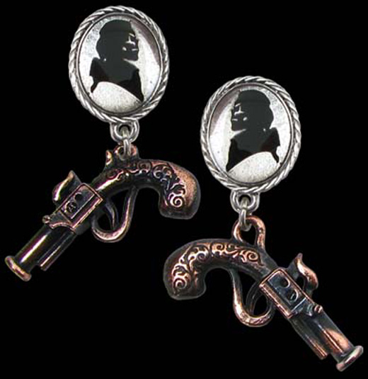 Alchemy Gothic Memento For A Highwayman Earrings