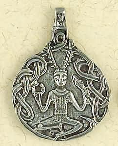 Cernunnos Celtic God Pendant
