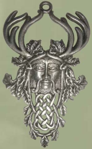 Celtic Knotwork Herne The Hunter Pendant